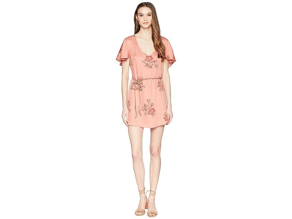 Billabong Fine Flutter Dress (Sunburnt) Women