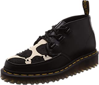 Dr.Martens Unisex Ramsey Chukka Polished Smooth Leather-Friesian Hair On Boots