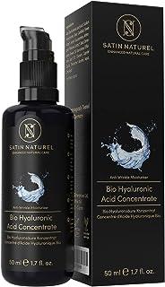 Serum Facial de Acido Hialuronico Puro ORGÁNICO Altamente Dosificado 50ml– Uso con Crema Antiarrugas Mujer – Gel Concentra...