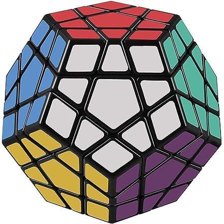 FAVNIC メガミンクス Megaminx 魔方 立体パズル 脳トレ ポップ防止 知恵おもちゃ (メガミンクス 3x3)