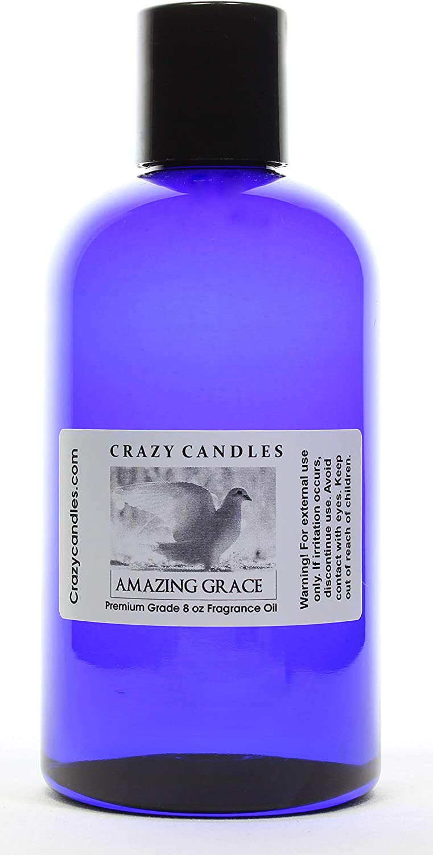 Crazy Candles 即出荷 8oz 送料無料 一部地域を除く Amazing Grace 8 Bottle 237ml G Oz Premium Fl