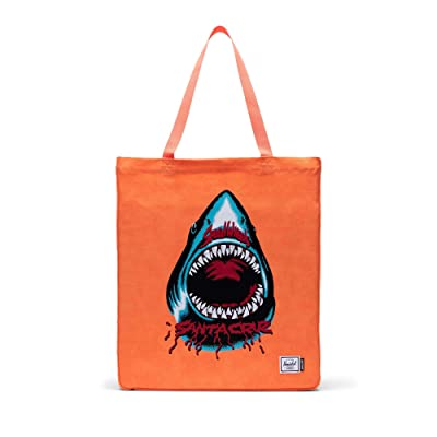 Herschel Supply Co. Long Tote (Sw Shark/Orange) Handbags