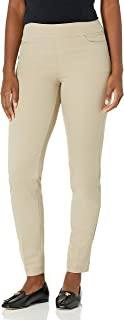 SLIM-SATION Women's Twill Ankle Pant