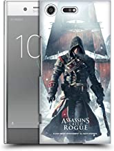 Official Assassin's Creed Shay Cormac Ship Rogue Key Art Hard Back Case Compatible for Sony Xperia XZ Premium