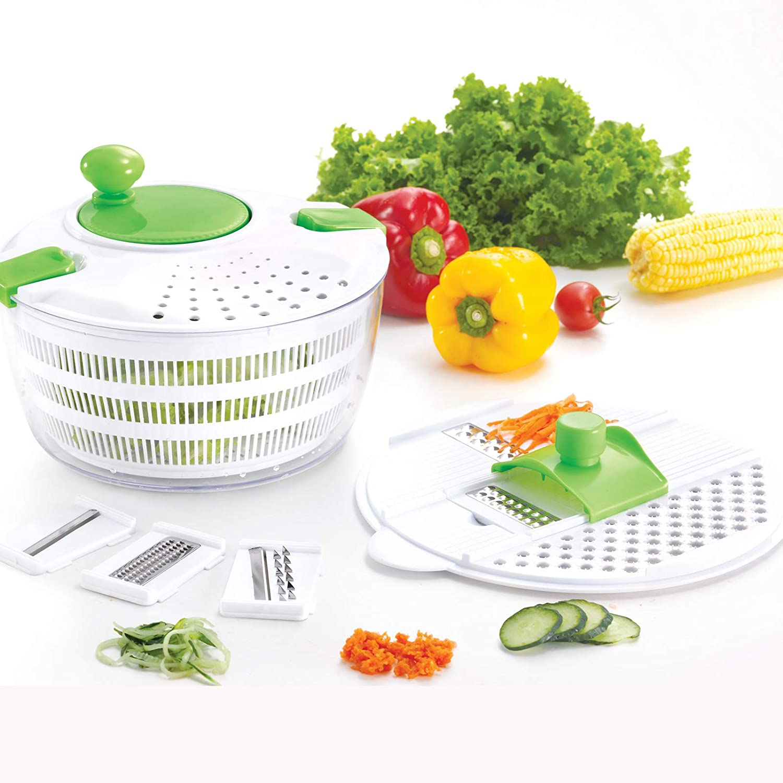 Award-winning store HUJI Salad Spinner and Set Max 71% OFF Mandoline Multifunctional Vegetable