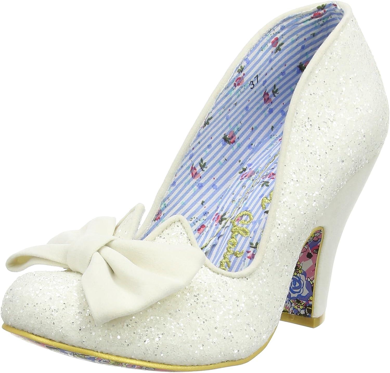 Irregular Choice Womens Nick of Time Glitter shoes