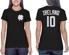 Ireland Four Leaf Clover - Soccer Jersey Eire Ladies T-Shirt