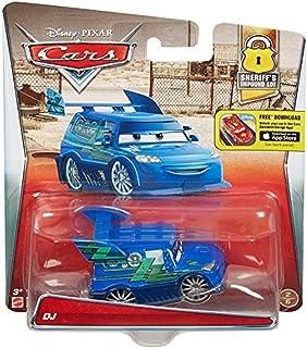 شخصية سيارة دي جيه مصبوبة في قالب من فيلم كارز ديزني/بيكسار