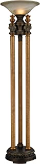 Dimond Lighting Athena Torchiere Floor Lamp, Bronze