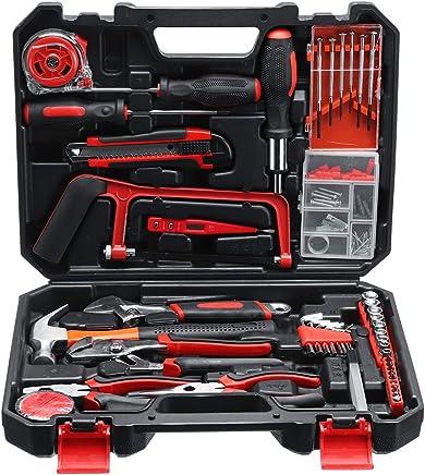 JCHUNL 108Pcs Essential Household Tool Tool Tool Kit Set Standard Präzision Schraubendreher Fall Box New Hot B07Q9JK6W4 | Outlet Store  a0ffb2