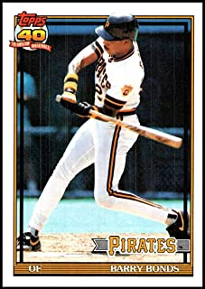 1991 topps barry bonds 570