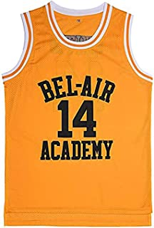 The Fresh Prince of Bel Air Academy Basketball Jersey #14 Will Smith Shirts