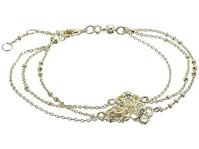 Kendra Scott Rue Multi Strand Bracelet (Gold Metal) Bracelet