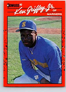 Baseball MLB 1990 Donruss #365 Ken Griffey Jr. #365 NM Mariners