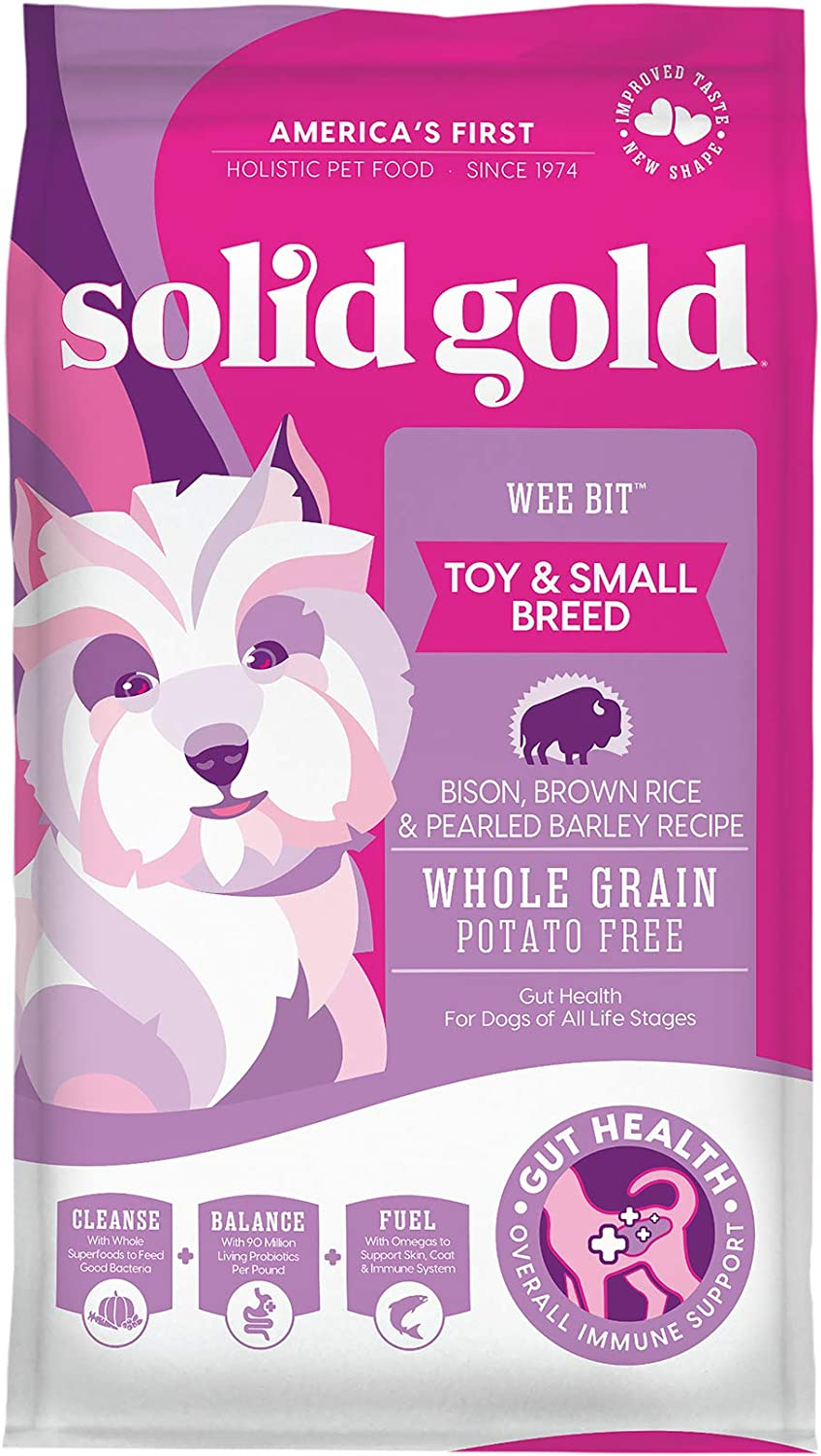 Solid Gold - Wee Bit With Brown Bison New Free Shipping Barle Real Rice Pearled Quantity limited