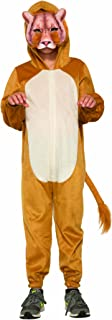 Forum Novelties 80969 Lion Jumpsuit And Mask Child's Costume, Large, Multi