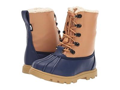 Native Kids Shoes Jimmy 3.0 Treklite (Little Kid) (Regatta Blue/Quicksand Brown/Gum Rubber) Kids Shoes