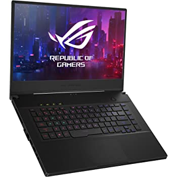 "ASUS ROG GU502GW-AH76 Zephyrus M Thin and Portable Gaming Laptop, 15.6"" 240Hz FHD IPS, NVIDIA GeForce RTX 2070, Intel Core i7-9750H, 16GB DDR4 RAM, 1TB PCIe SSD, Per-Key RGB, Windows 10 Home"