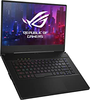"ROG Zephyrus M Thin and Portable Gaming Laptop, 15.6"" 240Hz FHD IPS, NVIDIA GeForce RTX 2070, Intel Core i7-9750H, 16GB DDR4 RAM, 1TB PCIe SSD, Per-Key RGB, Windows 10 Home, GU502GW-AH76"