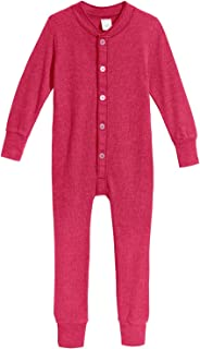 Boys' and Girls' Union Suit Thermal Underwear Long John Made in USA
