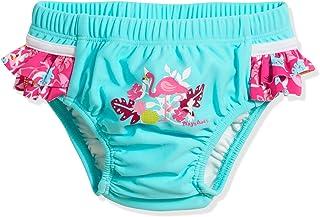 Playshoes baby-flicka UV-skydd blöjbyxor flamingo simblöja, turkos (turkos 15), 74 (tillverkarstorlek: 74/80)