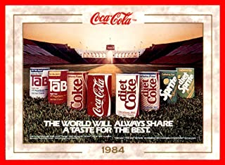 1993 Coke Trading Card Coca-Cola #85 A Taste for the Best