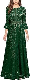 emerald green floral maxi dress