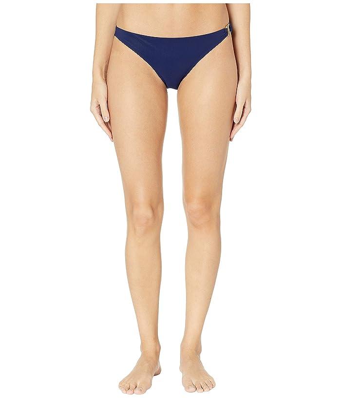 Tory Burch Swimwear Gemini Link Hipster (Tory Navy) Women
