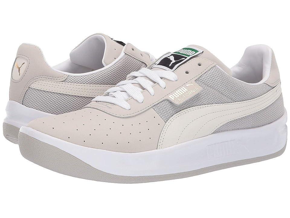 7fe6186461a6a3 PUMA California VTG (Gray Violet Puma White) Men s Lace up casual Shoes
