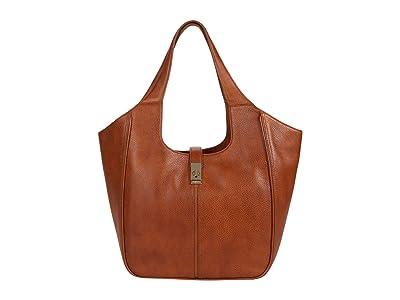 Brahmin Selva Carla Tote (Cognac) Handbags