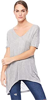 Stradivarius Asymmetrical Tops For Women S, Grey