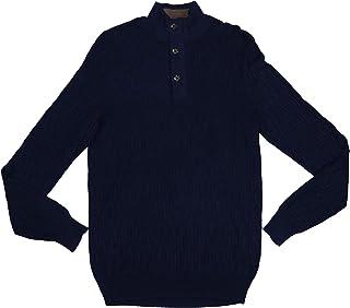 Tasso Elba 1/4 Zip Supima Cotton Textured Knit Pullover Lightweight Sweater