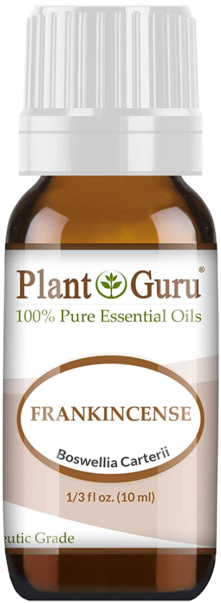 Frankincense Essential Oil 10 ml 100% Pure Undiluted Therapeutic Grade Extract of Boswellia Carterii, Great for Aromatherapy Diffuser, Supports Joint Health and More.