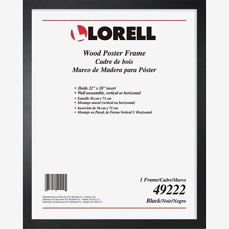 Lorell Solid Wood Poster Frame 22 X 28 49222