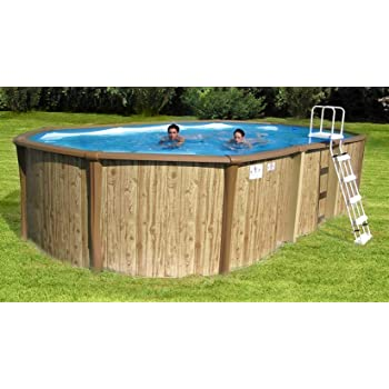 New Plast Poolmaster Kit Antigua 650 Piscina Exterior Terra Efecto ...