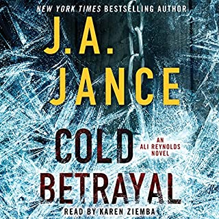 Cold Betrayal audiobook cover art