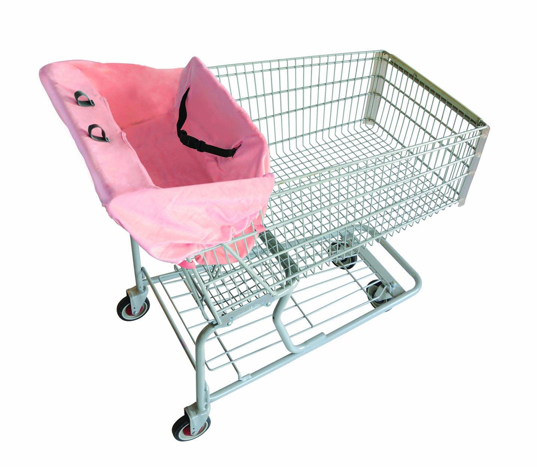 2 Red Hens Shopping Cart Cover, Pink Lemonade