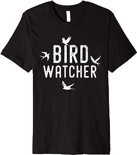 Bird Watcher Funny Halloween Costume Gift Idea Premium T-Shirt