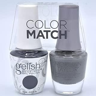 Gelish Gel Polish & Morgan Taylor Nail Polish Duo 1110879 Fashion Week Chic