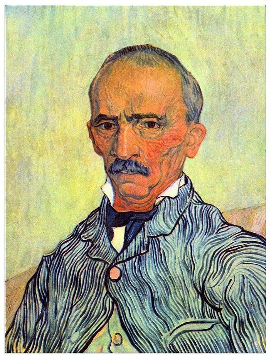 ArtPlaza TW91102 Vincent-Keeper of Lunatic Asylum of Saint-Paul, Trabucby Van Gogh Decorative Panel 27.5x35.5 Inch Multicolored