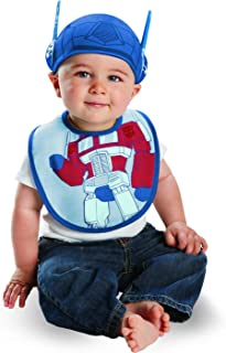 Disguise Drool Over Me Transformers Optimus Prime Infant Bib and Hat Costume