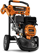 Generac OneWash 3,100 PSI 70191 Pressure Washer, Black, Orange