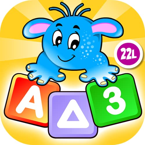 Preschool All In One Learning: Basic Skills Space Learning Adventure A to Z: Learn to Read Letters  Tracing  Numbers  Coloring Book  Shapes and Colors - Educational Toy for Baby  Toddler & Kindergarten Explorers by Abby Monkey® Kids Clubhouse Games