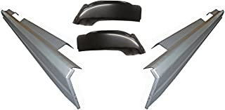 Motor City Sheet Metal Works With 1999-2015 Super Duty Ford Extended /& Crew Cab Pickup Front Rocker Panel New Pair
