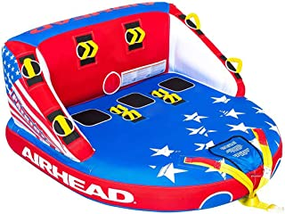 Airhead Patriot Towable Kwik Connect Chariot Style Reversible Tube