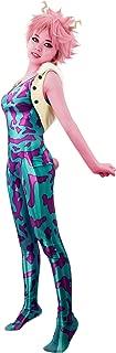C-ZOFEK Ashido Mina Cosplay Costume 3D Printed Jumpsuit with Tank