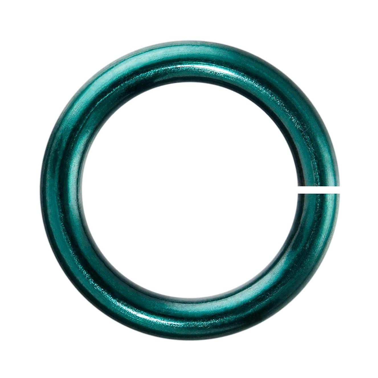 18-Gauge 6mm Teal Enameled Copper Jumprings - 1 ounce