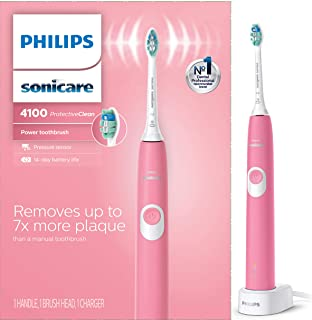 Philips Sonicare ProtectiveClean 4100 Rechargeable Electric Toothbrush , Deep Pink