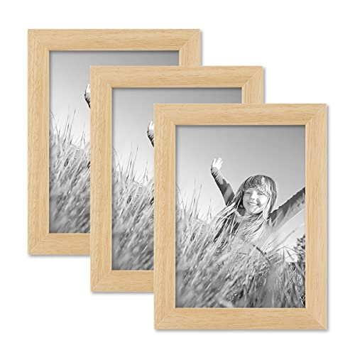 24fb7695128 Set of 3 Picture Frames with Dimensions of 13x18 cm   7 x 5 Inch