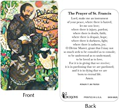 st francis prayer card